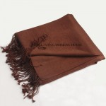 Brown Cashmere Shawl