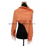 Orange Cashmere Wrap