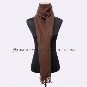 Brown Cashmere Stole