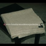 Gray Pashmina  Blanket