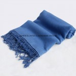 Royal Blue Cashmere Shawl