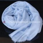 Sky Blue Cashmere Shawl
