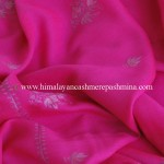 red Needle Embroidered Kashmiri Shawl
