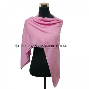 Baby Pink Cashmere Wrap