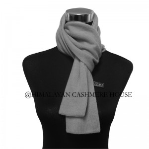 Gray Cashmere  Scarves
