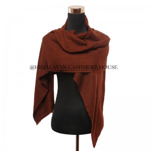 Brown Cashmere Wrap
