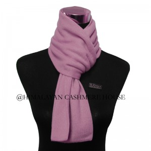 Baby Pink Cashmere Scarf