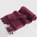 Grape Cashmere Shawl