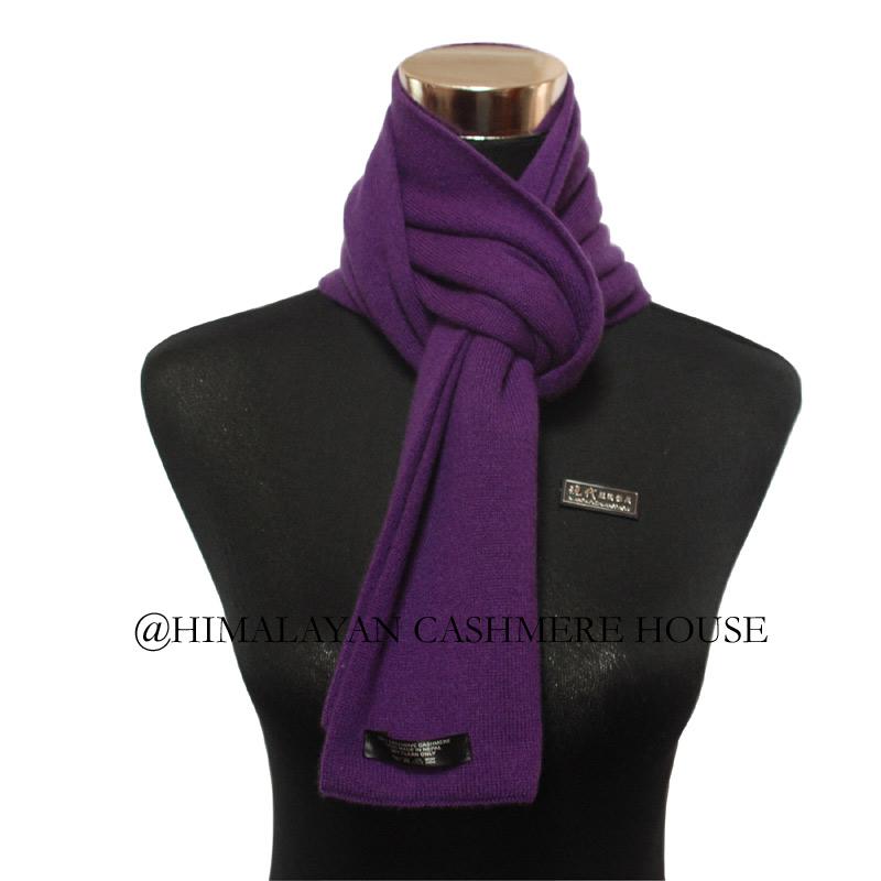 Purple Cashmere Pashmina Scarf Cashmere Pashmina Scarves