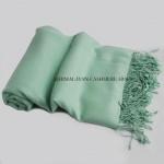 Light Turquoise Cashmere Shawl