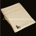 cream pashmina blanket