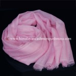 Baby Pink Cashmere Shawl