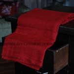 Ribbon Red Ring Cashmere Pashmina Shawl