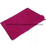 Jacquard Paisley Dark Pink Cashmere  Shawl