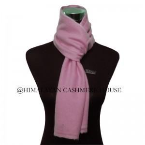Pink Cashmere Muffler
