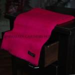 Hot Pink Ring Cashmere Pashmina Shawl