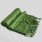 Classic Green Cashmere Shawl