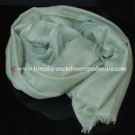Light Green Cashmere Shawl