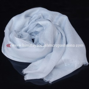 Light Blue Pashmina Shawl