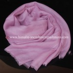 light pink cashmere shawl