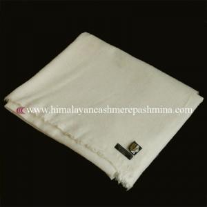 Off White Pashmina Blanket