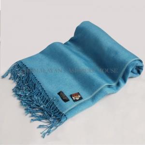 Turquoise Cashmere Silk Shawl