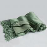 Green Cashmere Shawl