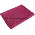 Jacquard Paisley Hot Pink Cashmere  Shawl