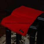 Red Ring Cashmere Pashmina Shawl