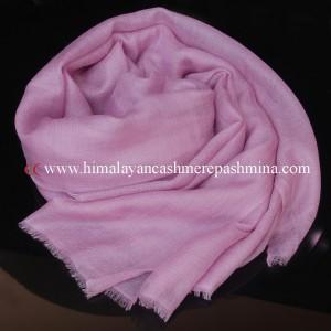 light pink cashmere shawl