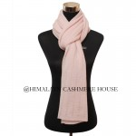 Rose Knitted Cashmere Shawl
