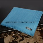 Aquarius Blue Diamond Cashmere Pashmina Shawl