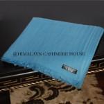 Aquarius Blue Diamond Cashmere Pashmina Shawl