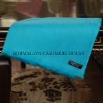 Turquois Diamond Cashmere Pashmina Shawl