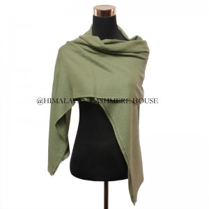 Green Cashmere Wrap